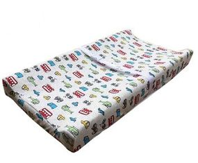 China Portable Wedge Changing Mat , Washable Baby Touch Cover Change Table Mat  supplier