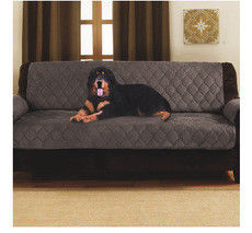 Dark Brown Waterproof Memory Foam Dog Bed 2 Sizes Double Sofa Bed Protector