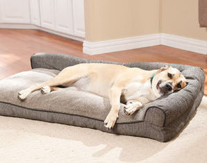 China Waterproof  orthopedic dog bed ,Large Washable Memory Foam pet Bed , Outdoor Memory Foam Dog Bed supplier