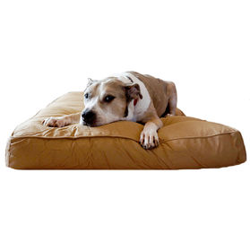 China Chew Resistant Chopped Memory Foam Dog Bed , Heavy Duty Extra Large Dog Beds  factory