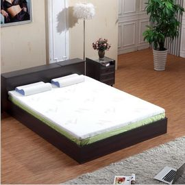 King Size Memory Foam Mattress Topper For Relieving Pressure White Color