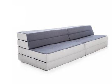 China Folding Comfortable Memory Foam Sofa Bed For Seating / Sleeping Portable  factory