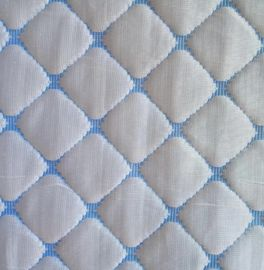 Jacquard Knitted Memory Foam Mattress Protector Cooling Fabric 44 / 100 Cooling 56 / 100 Polyester