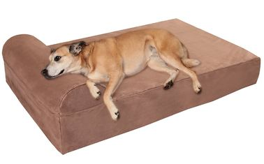 Washable Memory Foam Orthopedic Dog Bed , High Density Orthopedic Memory Foam Dog Beds For Large Dogs