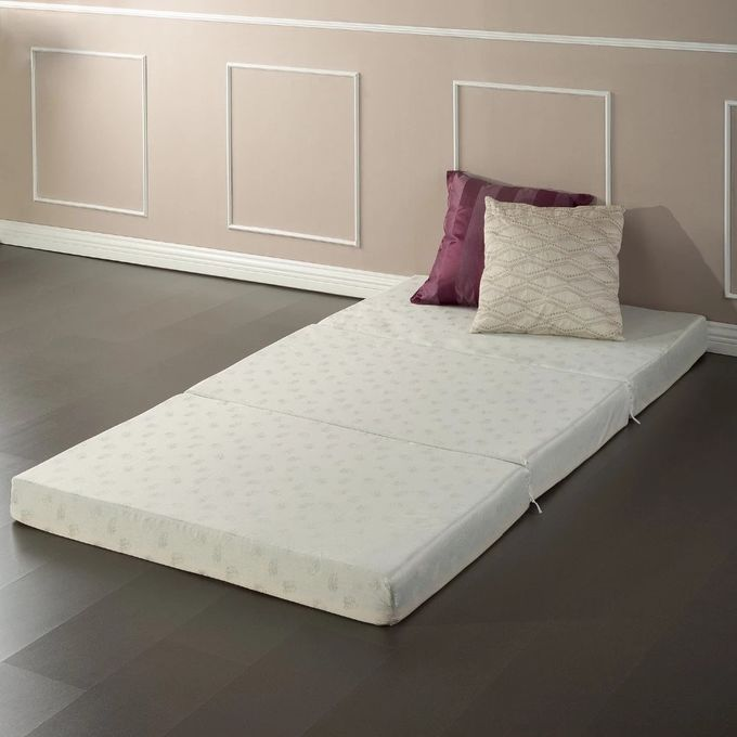 Warm / Cool Comfortable Sofa Bed , Playing Thin White Single Sofa Bed Mattress